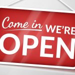 We are open – Modified Hours!